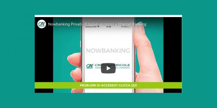 Cariparma Nowbanking Privati accesso