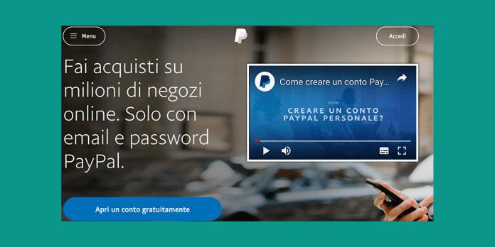 Conto PayPal: conto pay pall