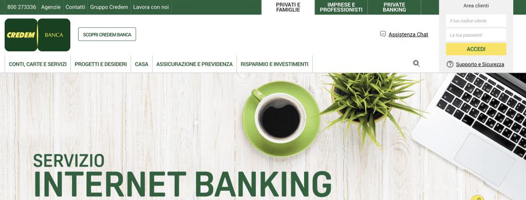 internet banking credem.it
