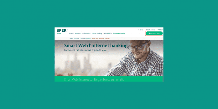 BPER Home Banking accesso clienti